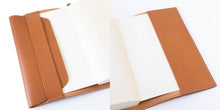 Load image into Gallery viewer, [Japanese Craftsman Made / Antique] Book Cover A6 Genuine leather Italian leather