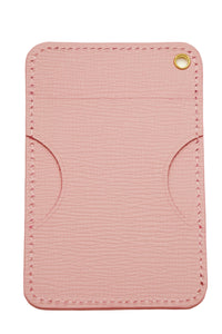 Pass case Regular case Leather Genuine leather Card case [Style-colors] Ladies cute pastel colors All 3 colors