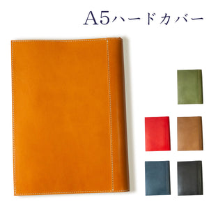 [Japanese Craftsman Made / Classic] Book Cover A5 hard cover Genuine leather bookmark included