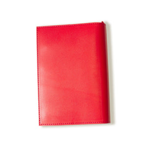 [Japanese Craftsman Made / Classic] Book Cover A6 genuine leather bookmark included