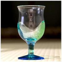 Load image into Gallery viewer, Hokuyo Glass [Tsugaru Vidro] Aomori Wine Glass