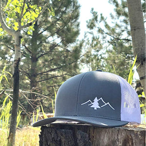 Trucker Hat - Pine & Mountains
