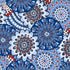 Factory Style Throw Blanket-Fireworks Medallion-Image 3-Vera Bradley
