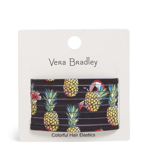 Colorful Hair Elastics-Toucan Party-Image 1-Vera Bradley