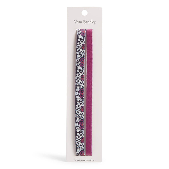 Stretch Headband Set-Scroll Medallion-Image 1-Vera Bradley