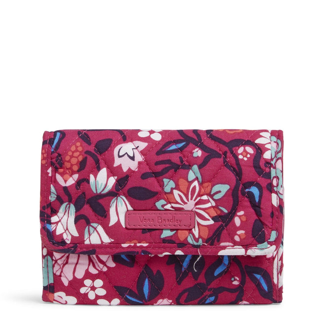 Factory Style Euro Wallet-Bloom Berry-Image 1-Vera Bradley