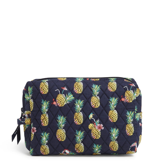 Factory Style Large Cosmetic Makeup Bag-Toucan Party-Image 1-Vera Bradley