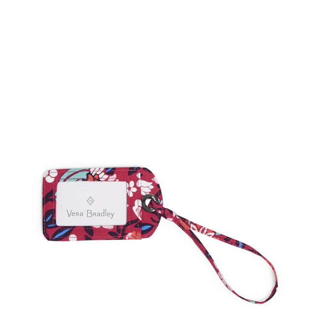 Factory Style Luggage Tag-Bloom Berry-Image 1-Vera Bradley