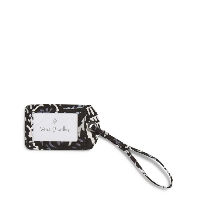Factory Style Luggage Tag-Paisley Noir-Image 1-Vera Bradley