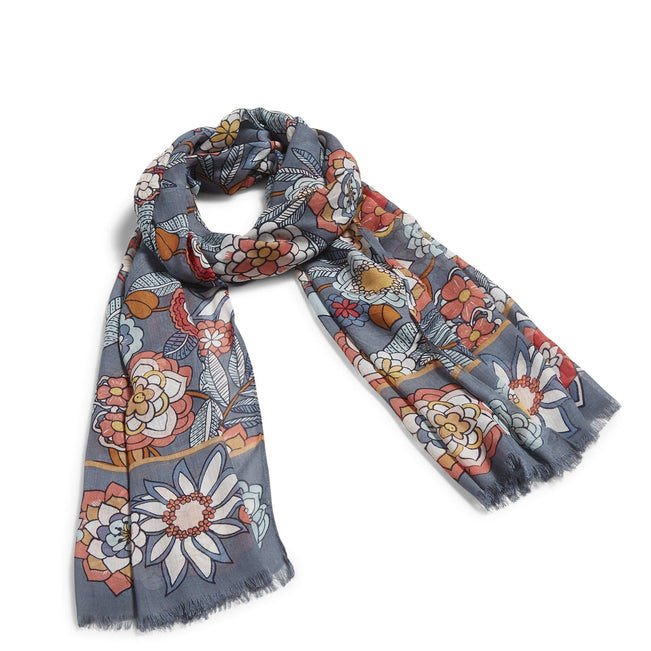 Soft Fringe Scarf-Tropical Evening-Image 1-Vera Bradley