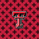 Collegiate Triple Zip Hipster Crossbody-Red/Black Mini Concerto with Texas Tech University-Image 2-Vera Bradley