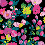 Factory Style Fleece Travel Blanket-Hilo Meadow-Image 3-Vera Bradley