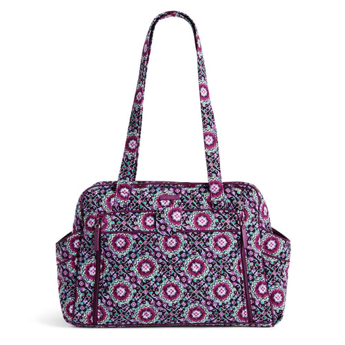 Stroll Around Diaper Bag-Lilac Medallion-Image 1-Vera Bradley