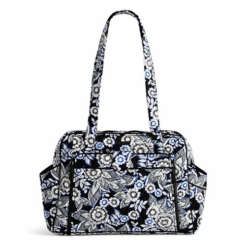 Stroll Around Diaper Bag-Snow Lotus-Image 1-Vera Bradley