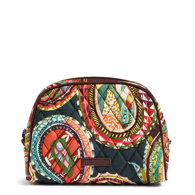 Medium Zip Cosmetic Bag-Heirloom Paisley-Image 1-Vera Bradley