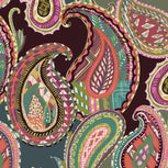 Medium Zip Cosmetic Bag-Heirloom Paisley-Image 3-Vera Bradley