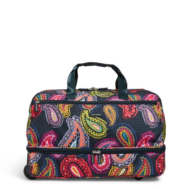 Factory Style Wheeled Carry On-Twilight Paisley-Image 1-Vera Bradley