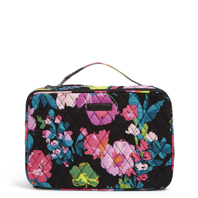 Factory Style Large Blush & Brush Makeup Case-Hilo Meadow-Image 1-Vera Bradley
