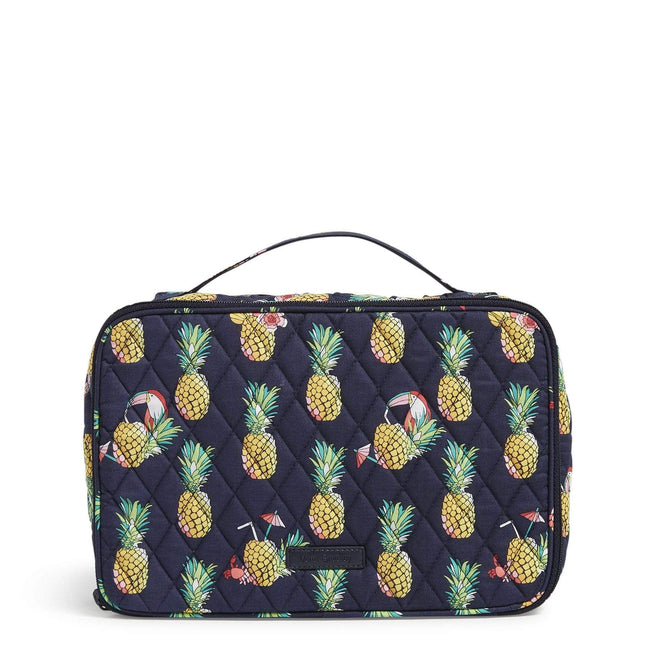 Factory Style Large Blush & Brush Makeup Case-Toucan Party-Image 1-Vera Bradley