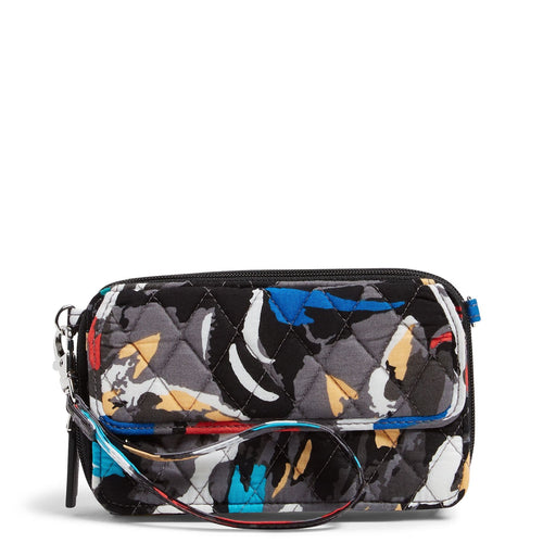 Factory Style All In One Crossbody and Wristlet-Splash Floral-Image 1-Vera Bradley