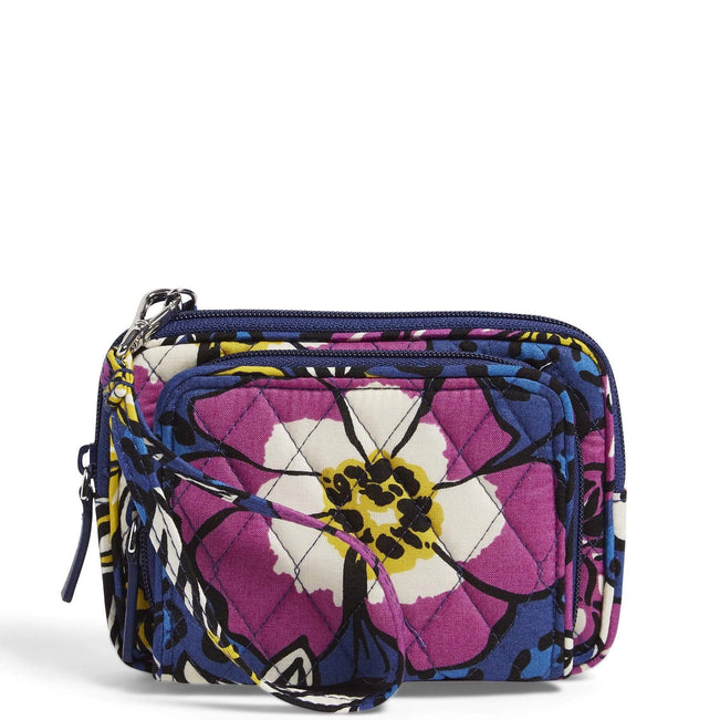 Factory Style On the Square Wristlet-African Violet-Image 1-Vera Bradley