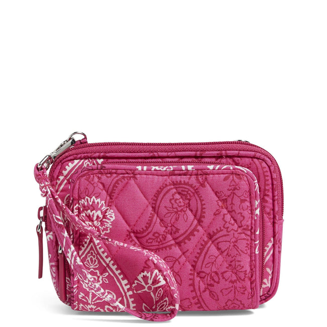 Factory Style On the Square Wristlet-Stamped Paisley-Image 1-Vera Bradley