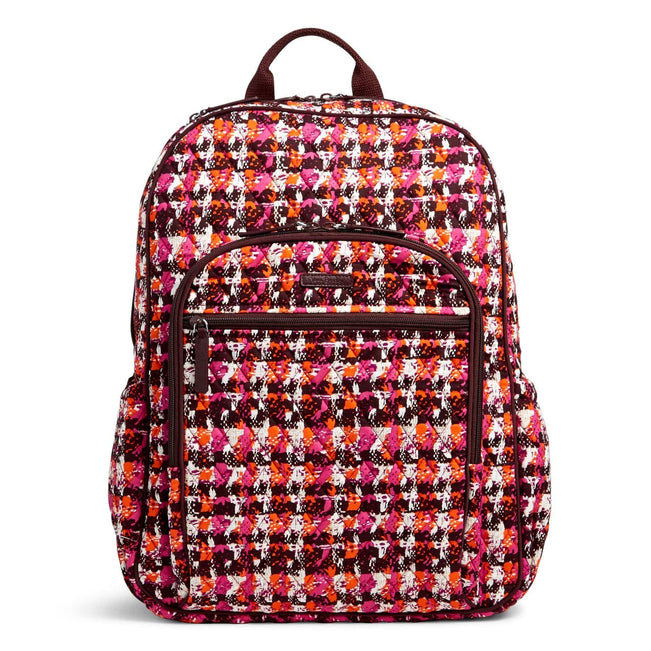 Campus Tech Backpack-Houndstooth Tweed-Image 1-Vera Bradley