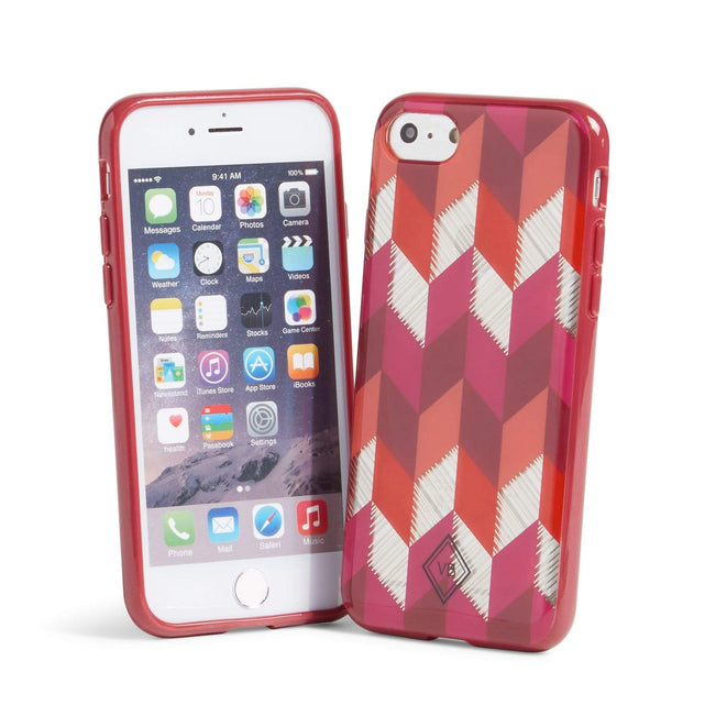 Factory Style Flexible Frame Case for iPhone 7-Bohemian Chevron-Image 1-Vera Bradley