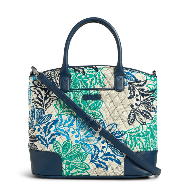 Day Off Satchel-Santiago with Navy-Image 1-Vera Bradley