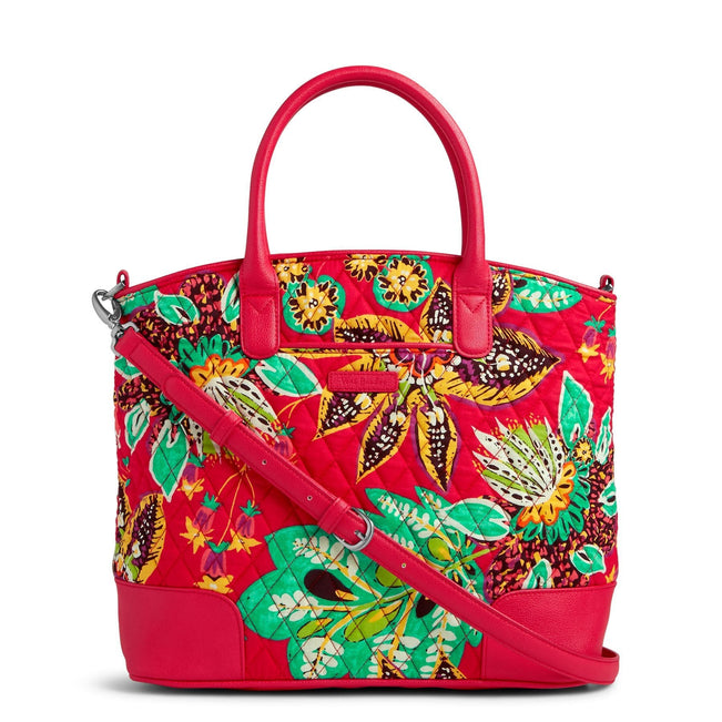 Day Off Satchel-Rumba with Red-Image 1-Vera Bradley