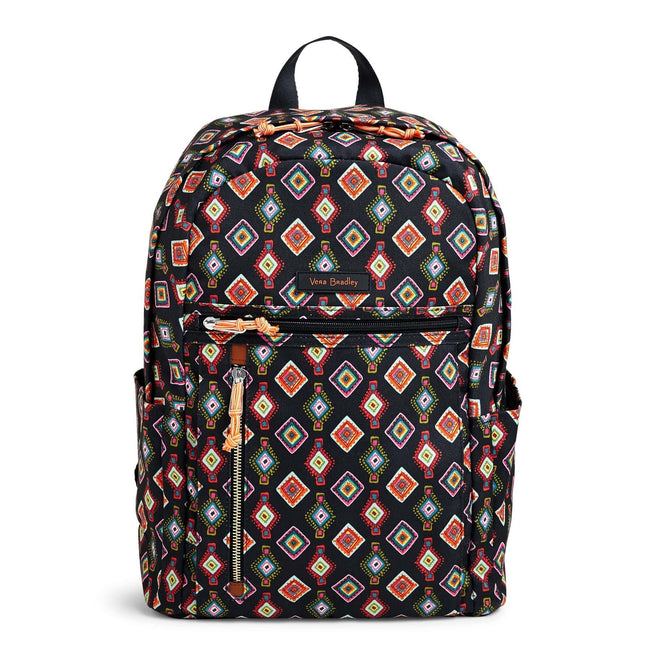 Lighten Up Small Backpack-Mini Medallions-Image 1-Vera Bradley