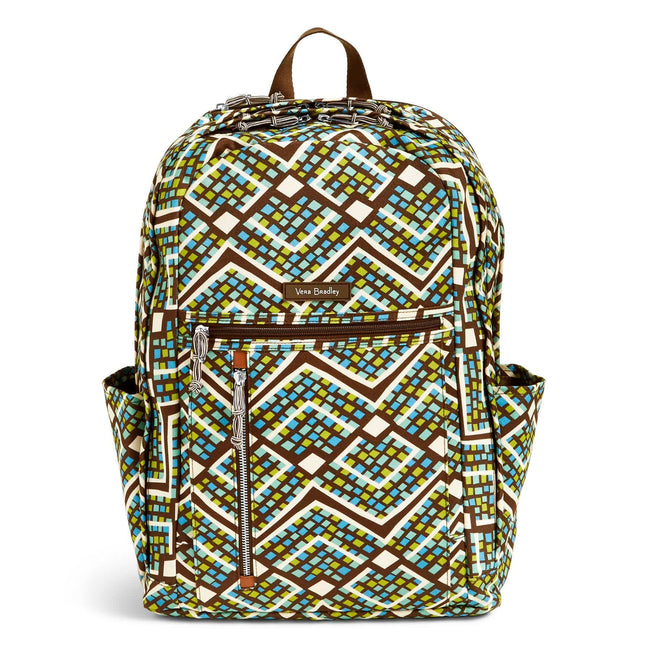 Lighten Up Grand Backpack-Rain Forest-Image 6-Vera Bradley