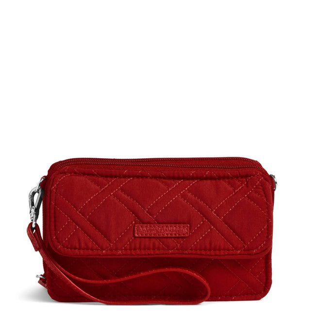 RFID All in One Crossbody-Microfiber Cardinal Red-Image 1-Vera Bradley