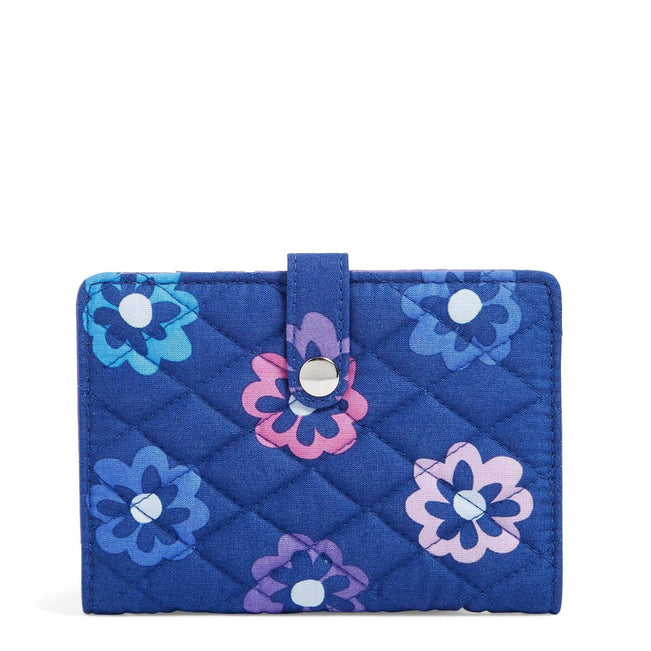 Factory Style Travel Wallet-Ellie Flowers-Image 1-Vera Bradley