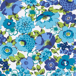 Factory Style Travel Wallet-Blueberry Blooms-Image 3-Vera Bradley