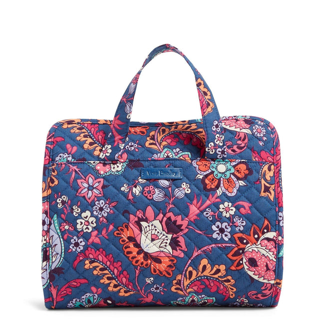 Hanging Travel Organizer-Dragon Fruit Floral-Image 1-Vera Bradley