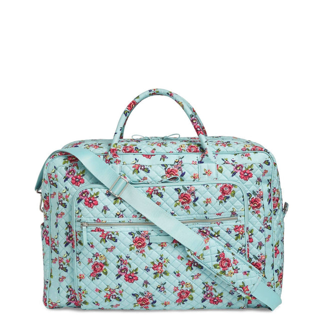 Grand Weekender Travel Bag-Water Bouquet-Image 1-Vera Bradley