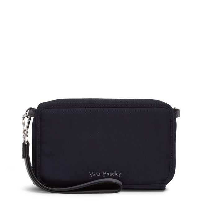 Midtown RFID All in One Crossbody-Midtown Classic Navy-Image 1-Vera Bradley