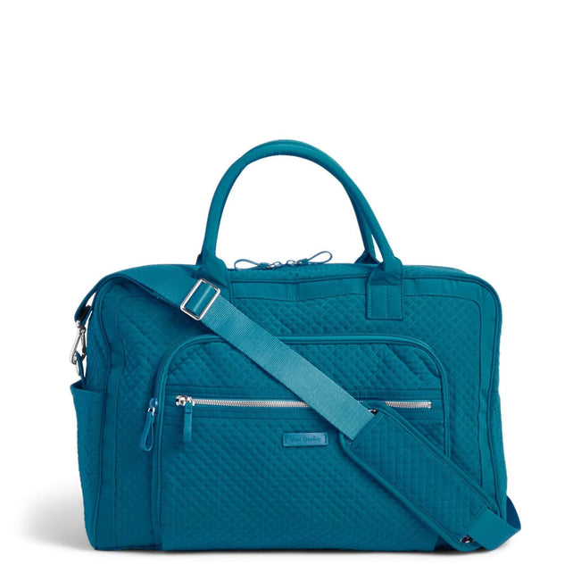 Weekender Travel Bag-Microfiber Bahama Bay-Image 1-Vera Bradley