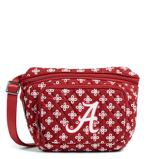 Collegiate Belt Bag-Cardinal/White Mini Concerto with The University of Alabama-Image 1-Vera Bradley