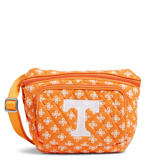 Collegiate Belt Bag-Orange/White Mini Concerto with University of Tennessee-Image 1-Vera Bradley
