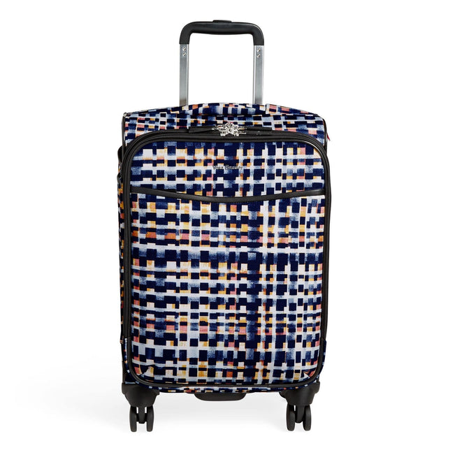 Small Spinner Rolling Luggage-Abstract Blocks-Image 1-Vera Bradley