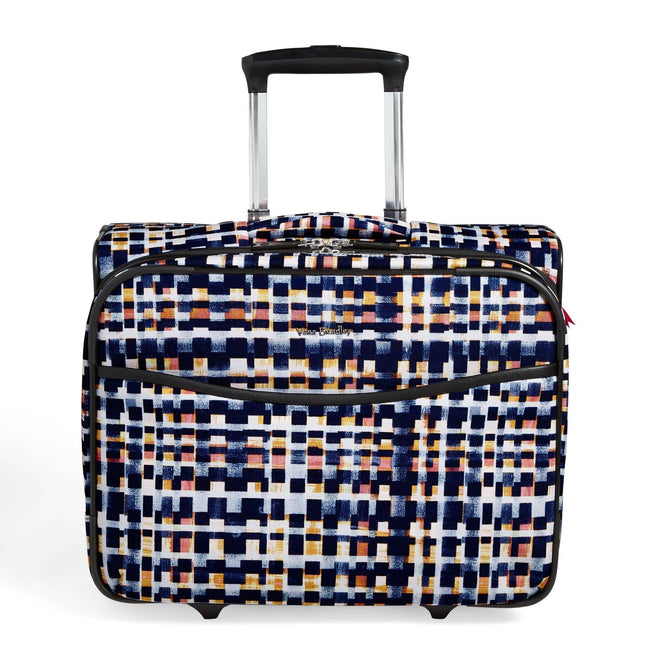 Rolling Work Bag-Abstract Blocks-Image 1-Vera Bradley