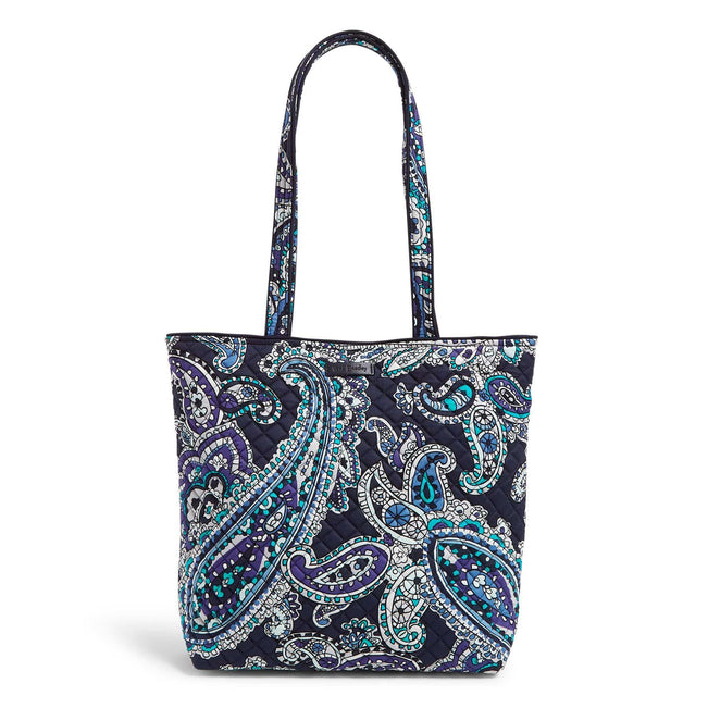 Tote Bag-Deep Night Paisley-Image 1-Vera Bradley