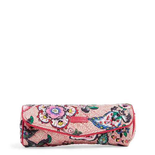 On a Roll Case-Stitched Flowers-Image 1-Vera Bradley