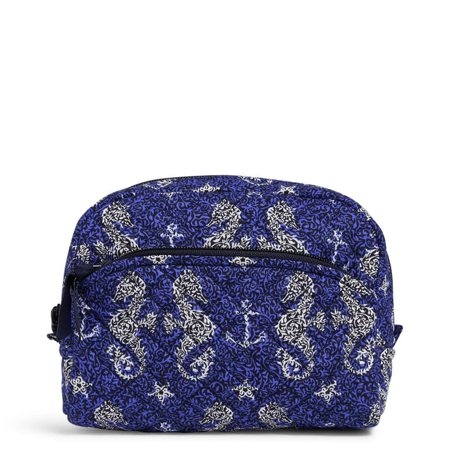 Medium Cosmetic Bag-Seahorse of Course-Image 1-Vera Bradley