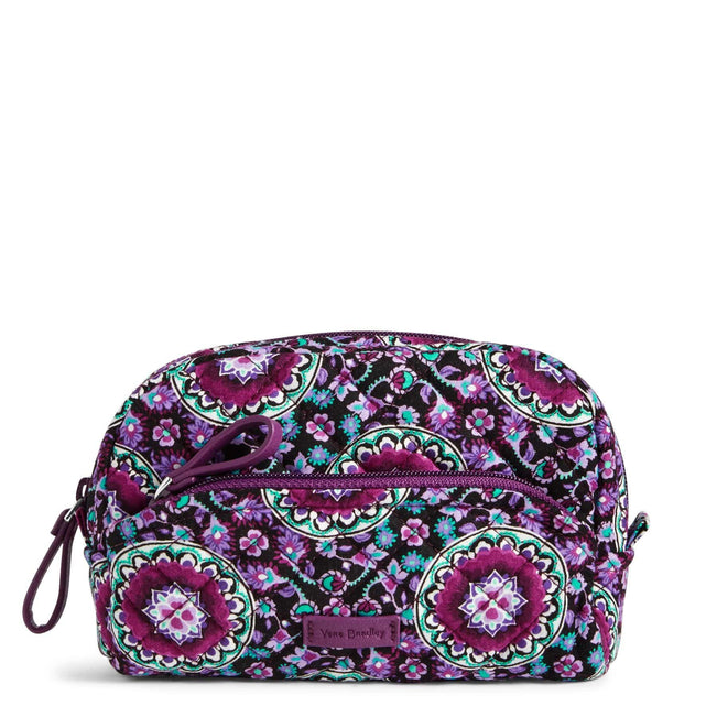 Mini Cosmetic Bag-Lilac Medallion-Image 1-Vera Bradley