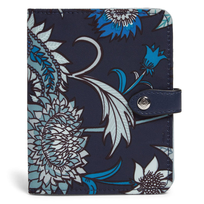 Midtown RFID Passport Wallet-Cornflower Blossoms-Image 1-Vera Bradley