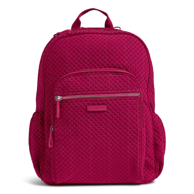 Campus Backpack-Microfiber Passion Pink-Image 1-Vera Bradley