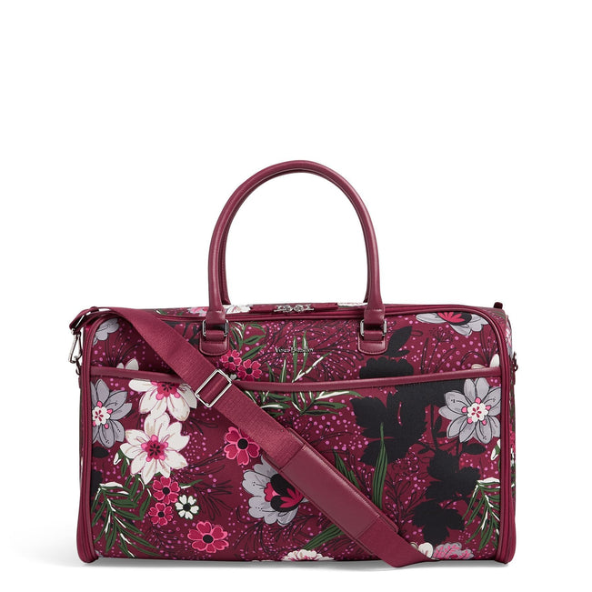 Convertible Garment Bag-Bordeaux Meadow-Image 1-Vera Bradley